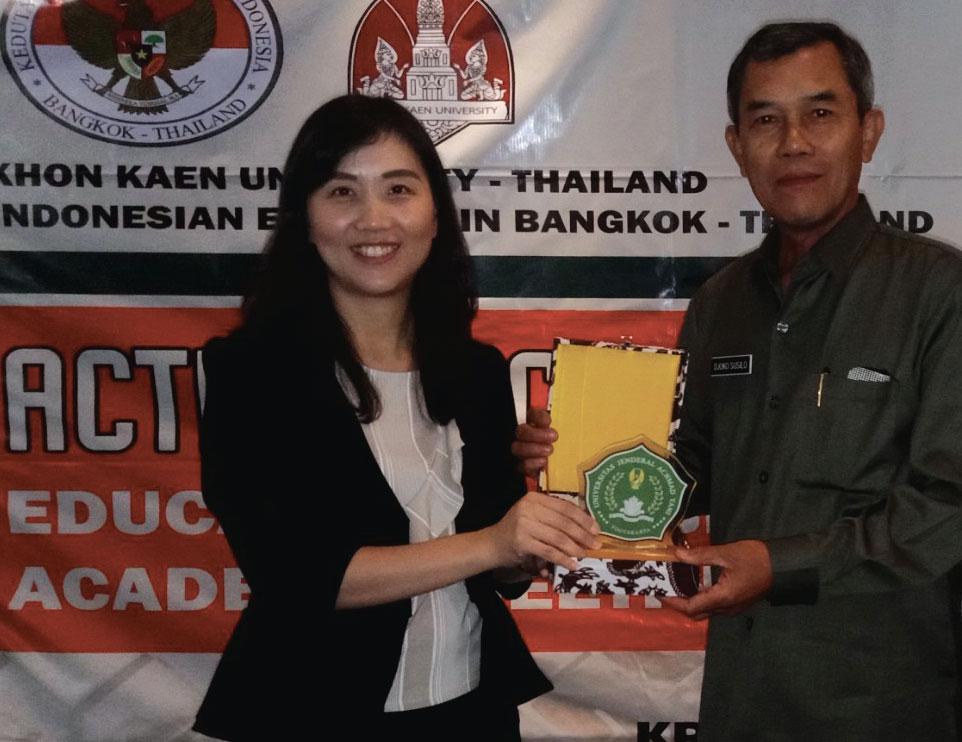 Unjani Yogyakarta Kembangkan MoU dengan Khon Kaen University Thailand