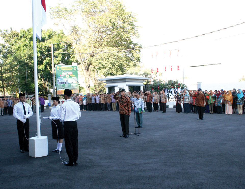 Peringatan Kemerdekaan Indonesia Ke-73 di Unjani Yogyakarta