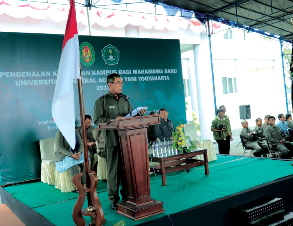 Pengenalan Kehidupan Kampus Bagi Mahasiswa Baru Unjani Yogyakarta