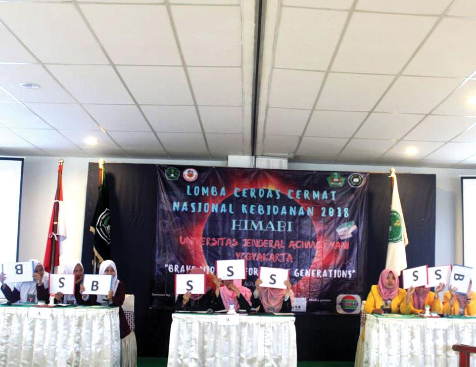 Himabi Unjani Yogyakarta Gelar LCC Nasional Kebidanan