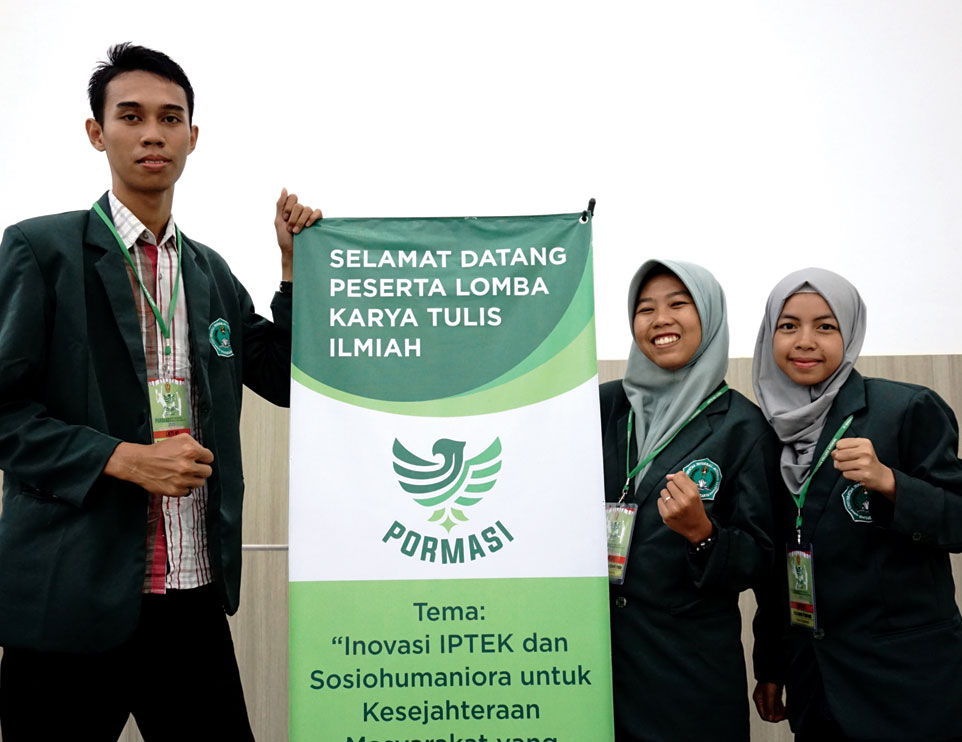 Tim Karya Ilmiah Unjani Yogyakarta Borong Medali Pormasi 2019