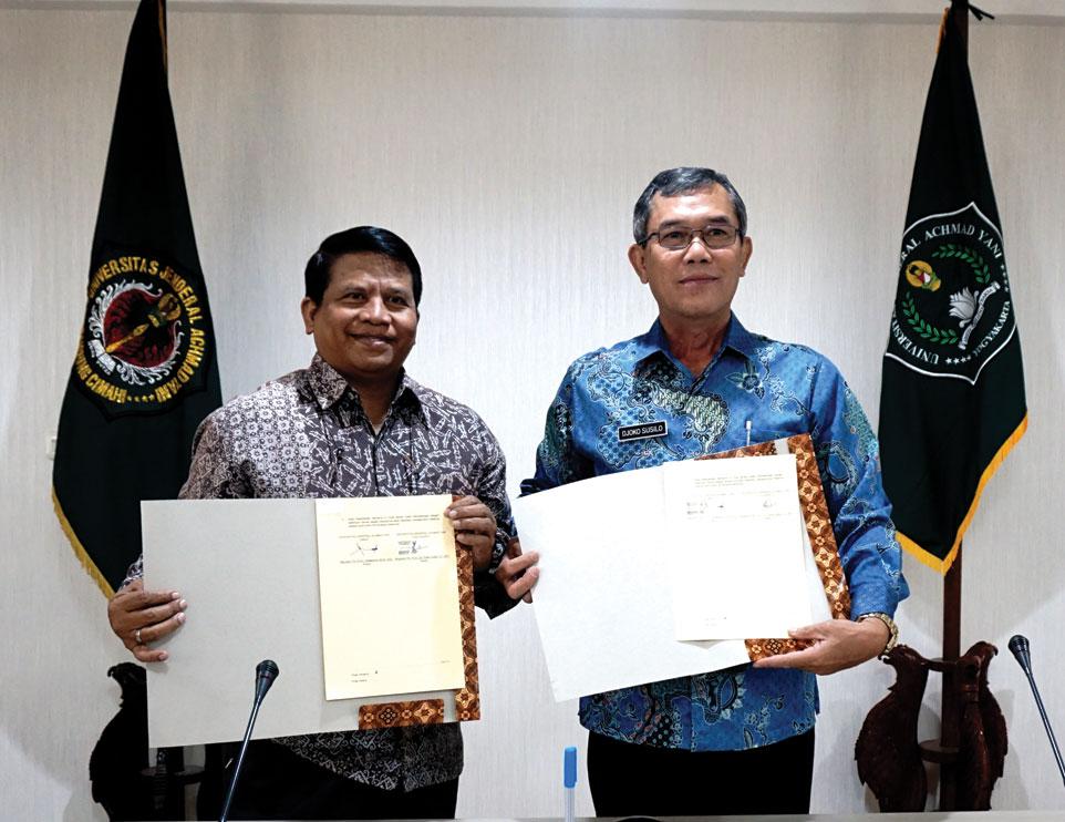 Tingkatkan Kualitas Pendidikan, Unjani Cimahi dan Unjani Yogyakarta Tandatangani MoU