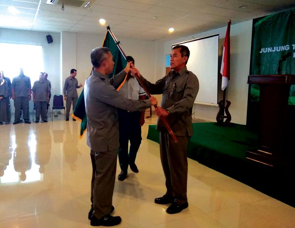 Pengukuhan Kontingen Unjani Yogyakarta pada Pormasi Jenderal Achmad Yani 2019