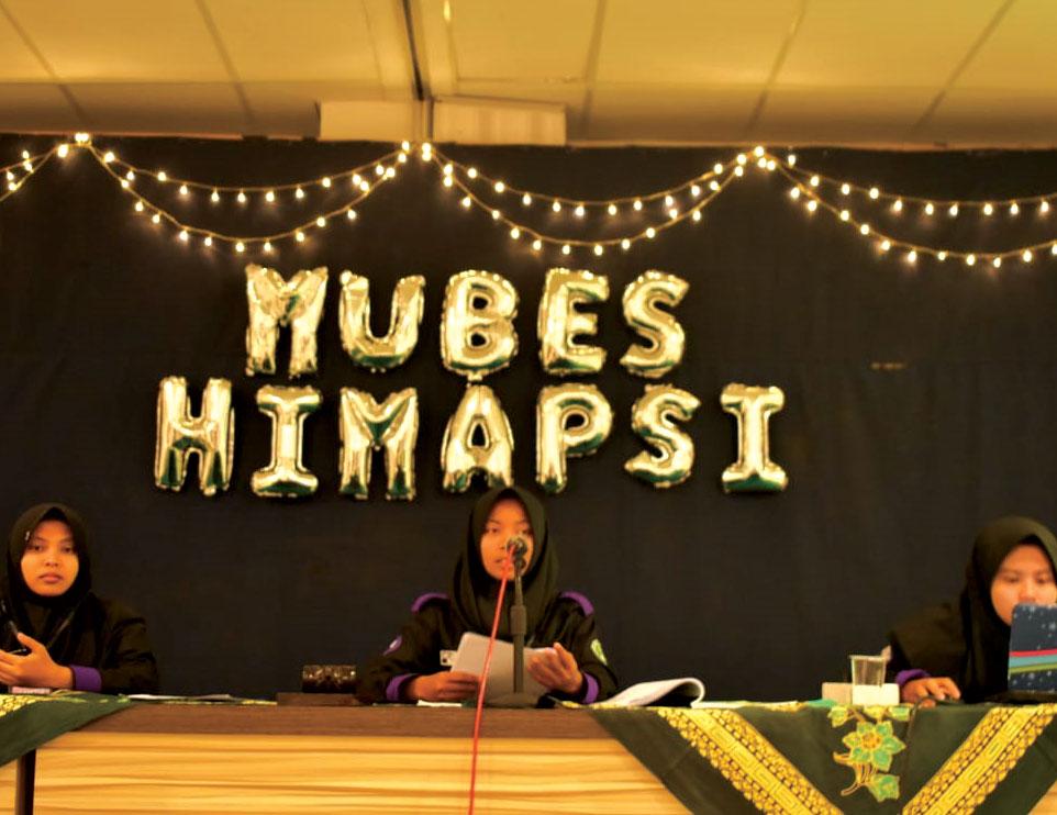 Himapsi Fakultas Ekonomi dan Sosial Unjani Yogyakarta Gelar Mubes