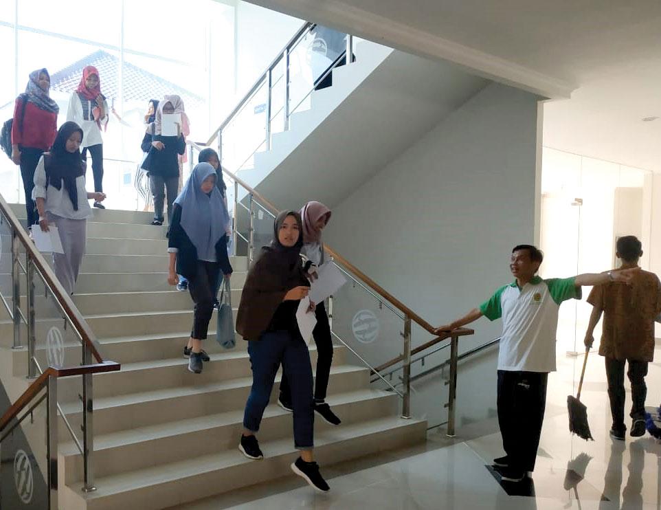 Unjani Yogyakarta Gelar Simulasi Kesiapsiagaan Bencana