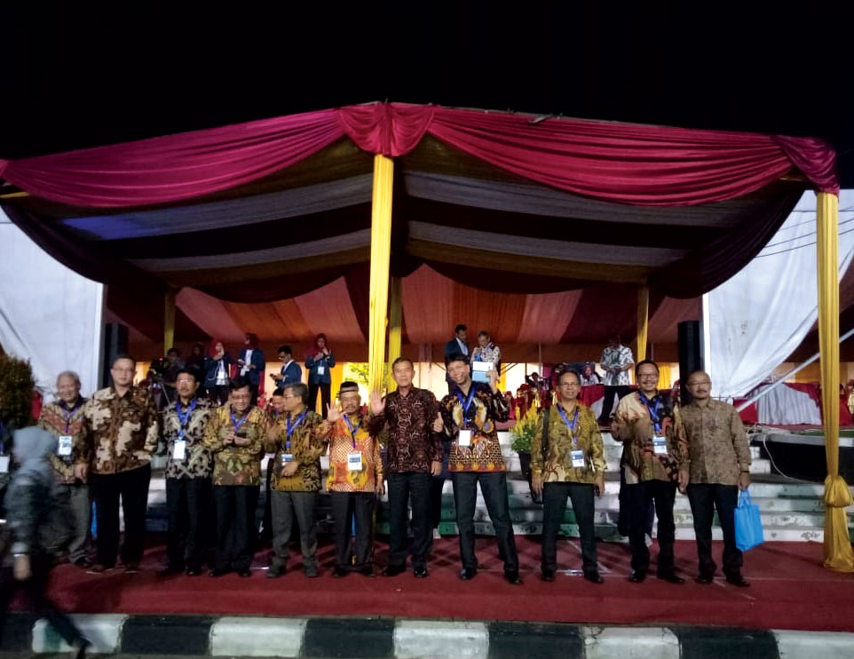 Rektor Unjani Yogyakarta Hadiri Konferensi Forum Rektor Indonesia 2019