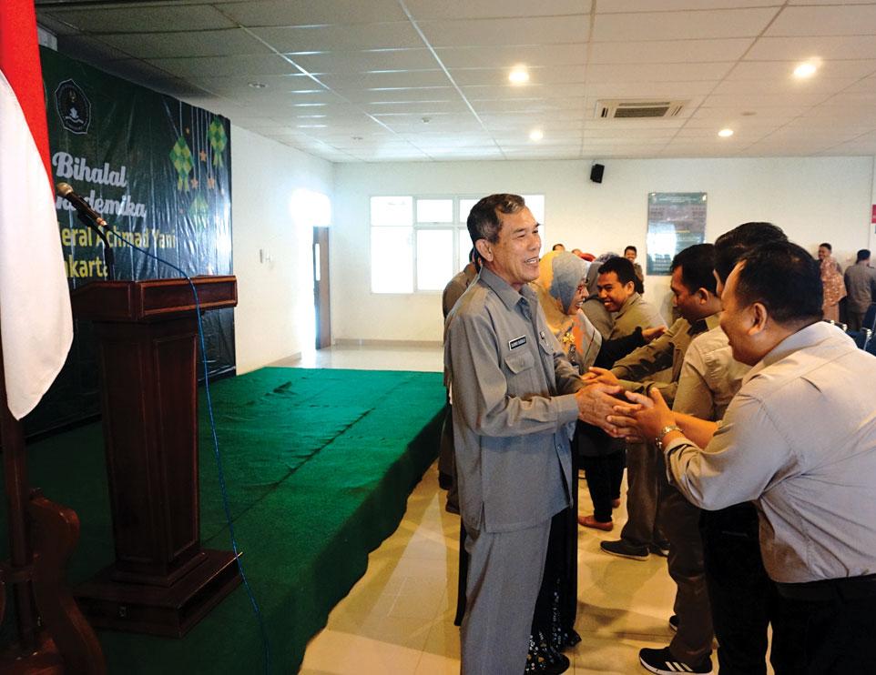 Keluarga Besar Unjani Yogyakarta Gelar Syawalan
