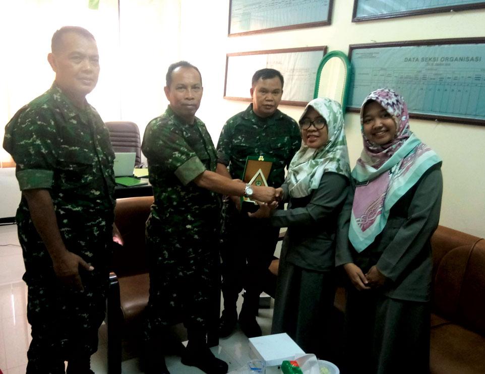Persiapkan Kajian Hukum Militer, Prodi Hukum Unjani Yogyakarta Kunjungi STHM Jakarta