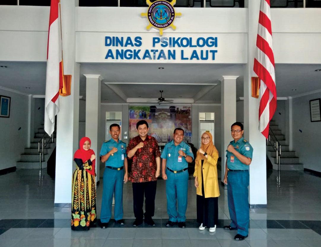 Wujudkan Kekhasan, Prodi Psikologi Unjani Yogyakarta Kunjungi Dispsial