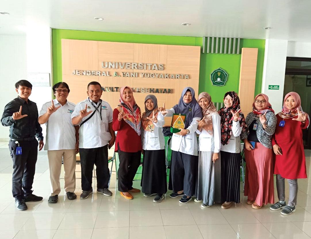 BPPTPDAS Lakukan Studi Banding ke Perpustakaan Unjani Yogyakarta