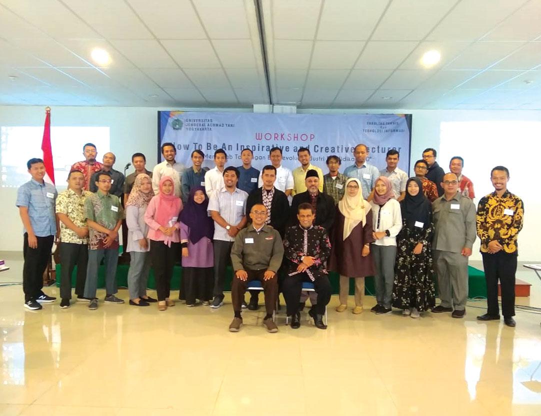 Sambut Era Industri Pendidikan 4.0, FTTI Unjani Yogyakarta Gelar Workshop