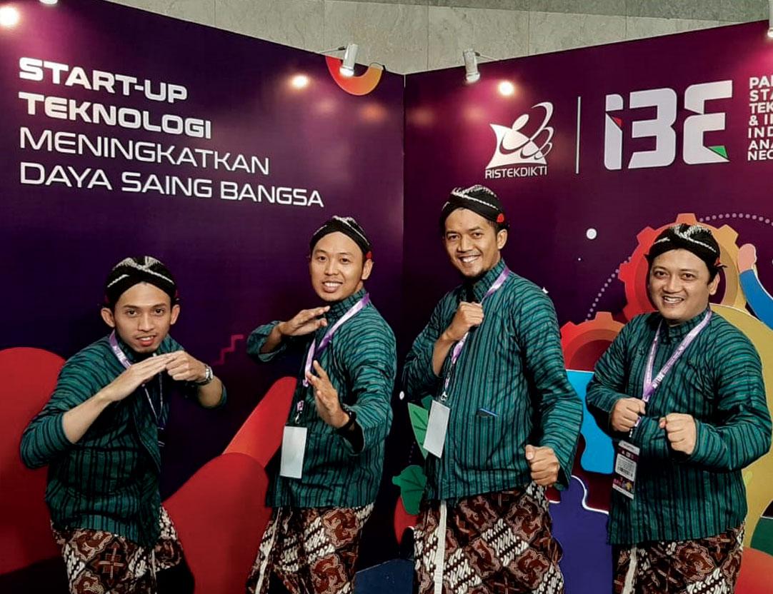 Tim CPPBT FTTI Unjani Yogyakarta Ikuti Pameran Inovator 2019
