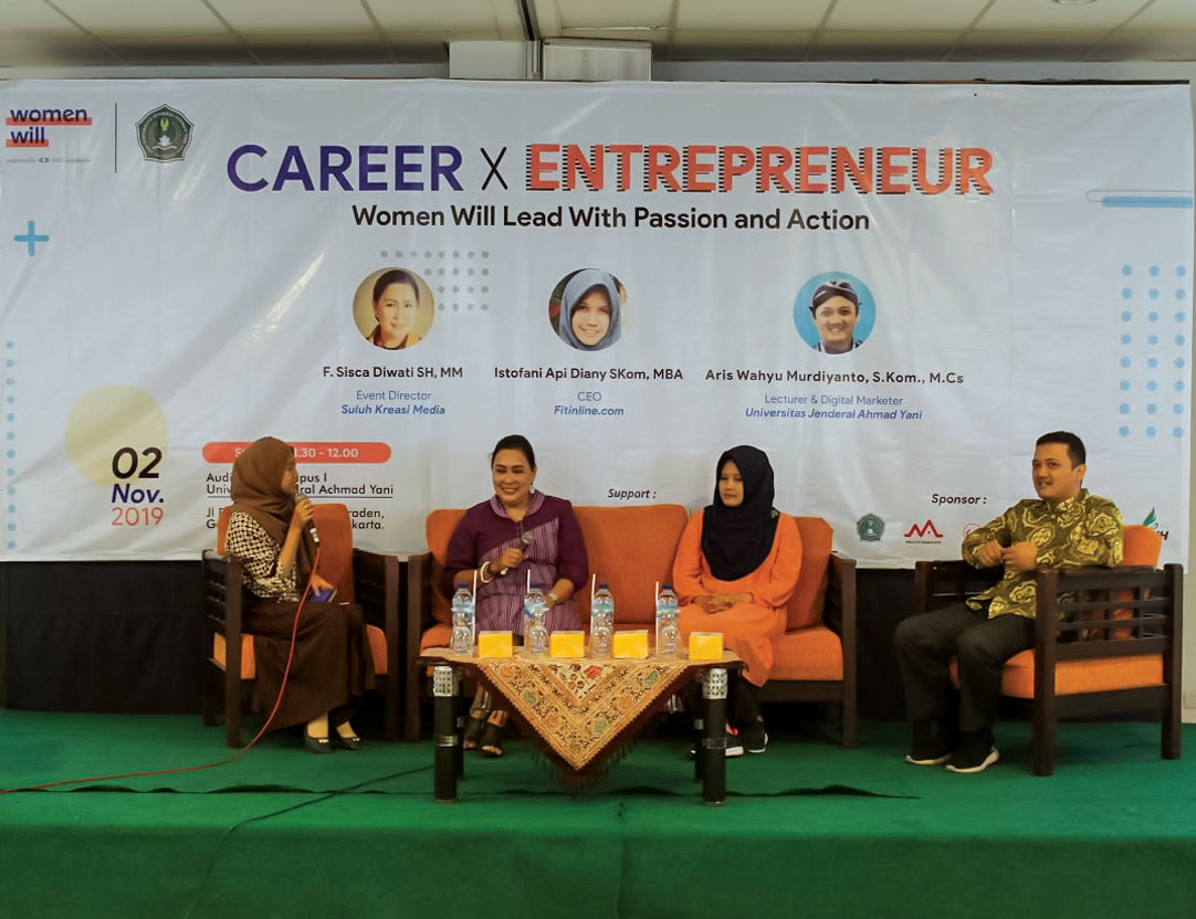 Unjani Yogyakarta Selenggarakan Seminar Career X Entrepreneur