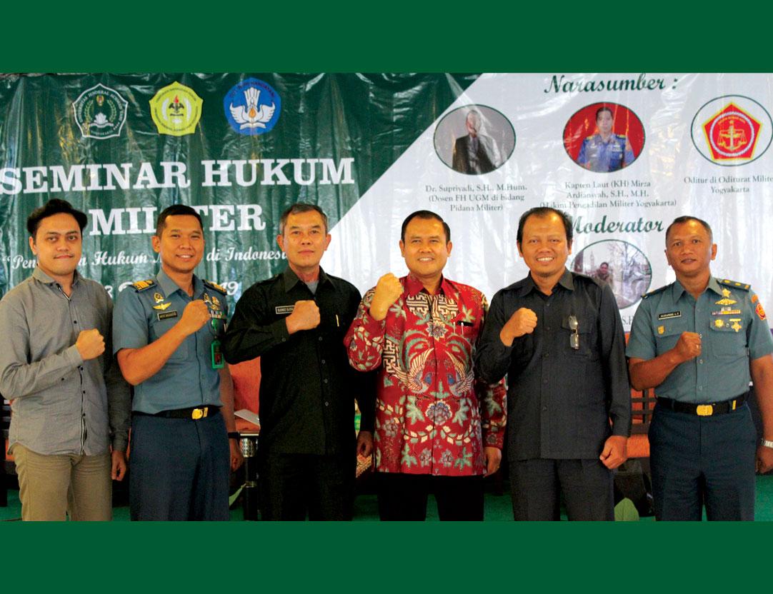 Prodi Hukum Unjani Yogyakarta Selenggarakan Seminar Hukum Militer