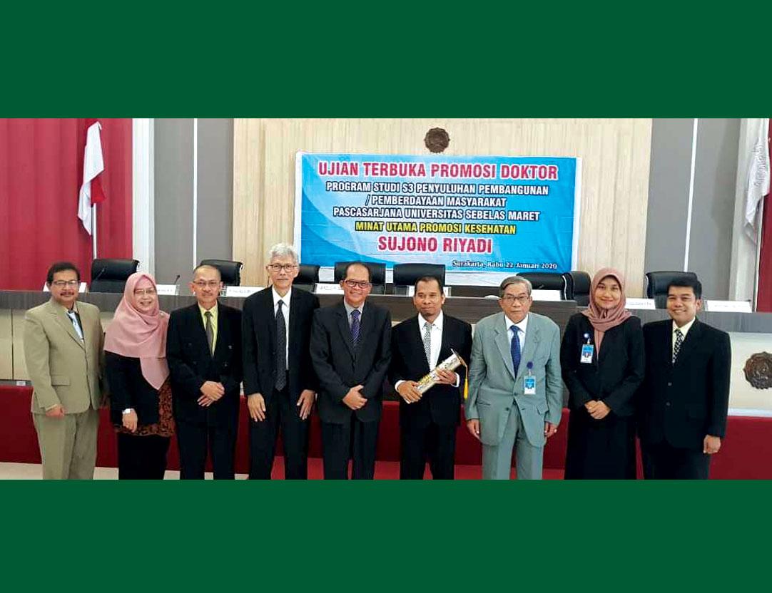 Dosen Keperawatan Unjani Yogyakarta Raih Gelar Doktor di UNS