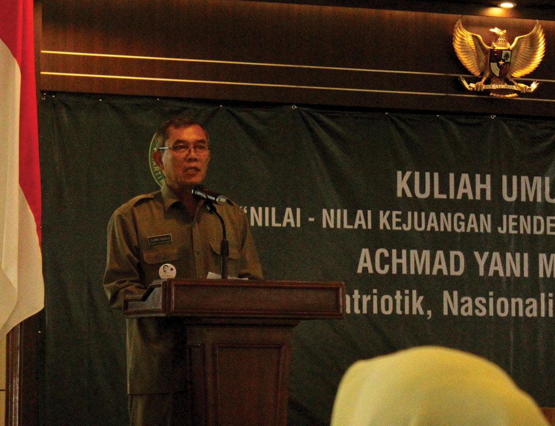 Rektor Buka Agenda Dies Natalis Kedua Unjani Yogyakarta