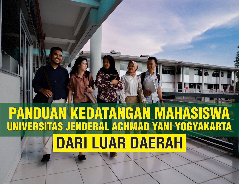 Panduan Penerimaan Kedatangan Mahasiswa dari Luar Daerah