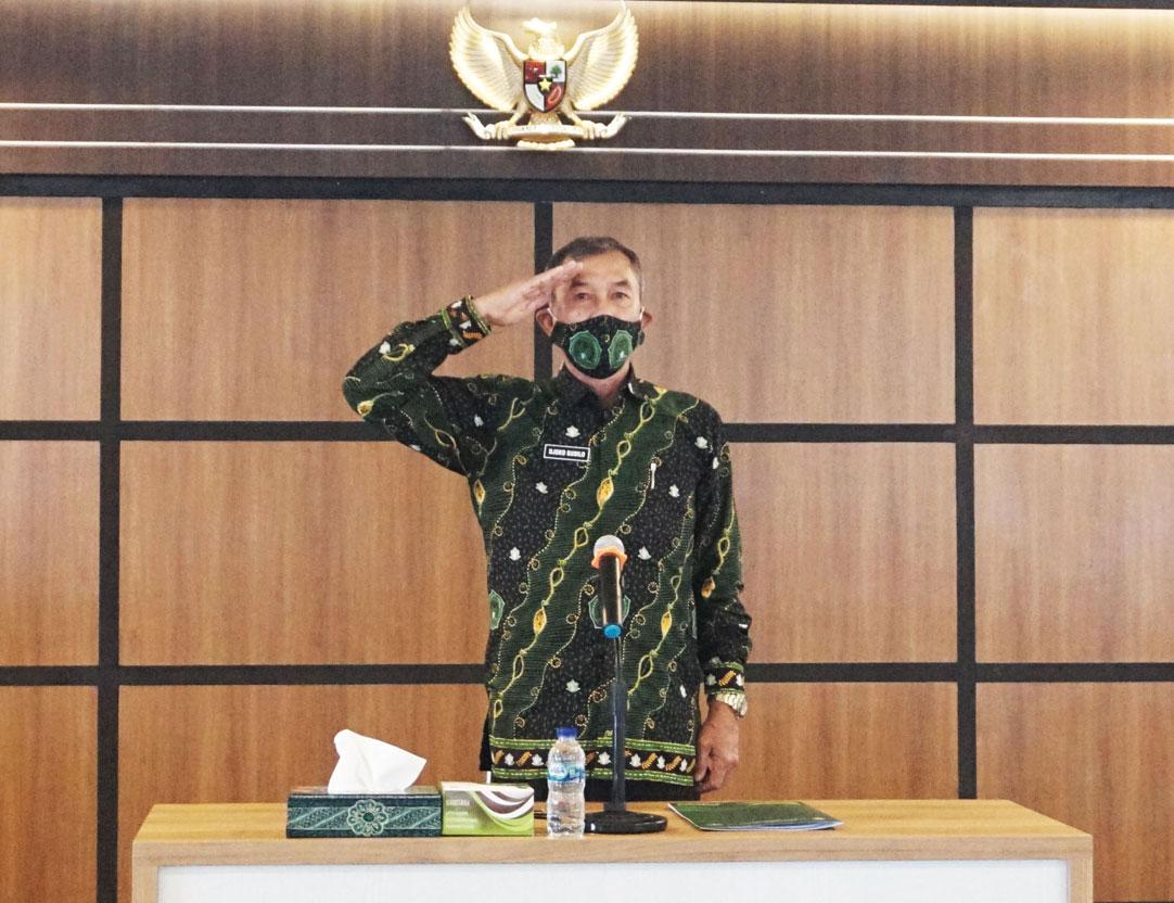 Unjani Yogyakarta Mengikuti Live Streaming Upacara Kemerdekaan di Istana