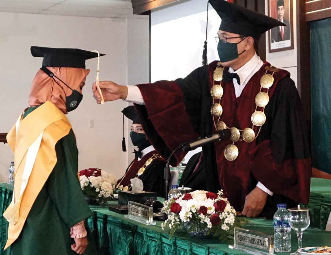 UNJAYA Berhasil Luluskan 508 Mahasiswa dengan Wisuda Daring